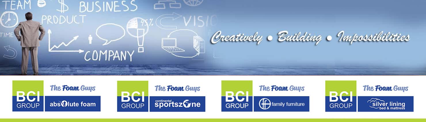 BCI Group [The Foam Guys] | BCI Divisions Banner